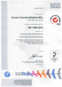 Xtramix-Concrete-Solutions-WLL---ISO14001_2015
